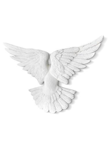 The Mia Biblo Güvercin- 55 Cm Beyaz Beyaz